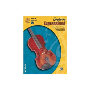 Orchestra Expressions Book 1 Violin