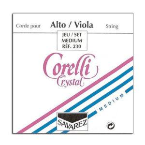 Full Set of Viola corelli Crystal Strings