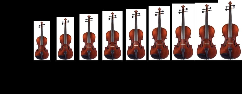Viola SIze Chart